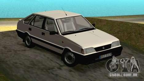 Daewoo-FSO Polonez Caro Plus ABC 1999 para GTA San Andreas vista traseira