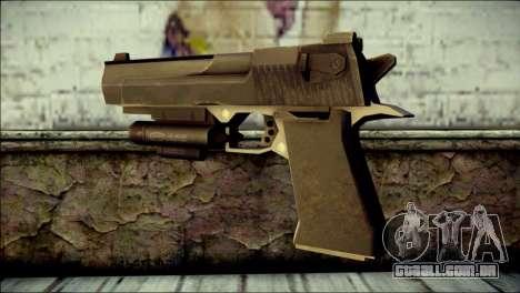 Rumble 6 Desert Eagle para GTA San Andreas segunda tela