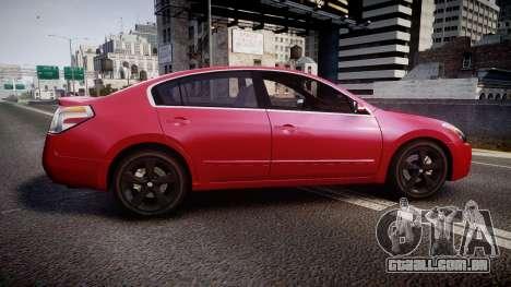 Nissan Altima 3.5 SE para GTA 4 esquerda vista