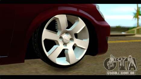 Chevrolet Celta VHC 1.0 para GTA San Andreas traseira esquerda vista