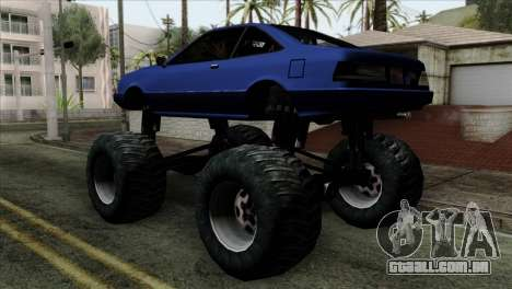 Monster Cadrona para GTA San Andreas esquerda vista