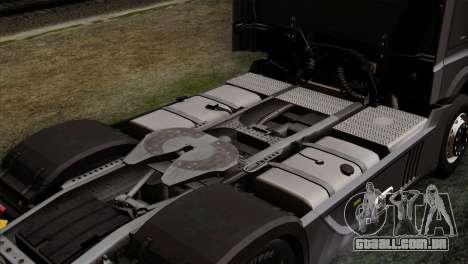 Mercedes-Benz Actros MP4 Euro 6 IVF para GTA San Andreas vista traseira