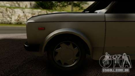 Fiat 128 para GTA San Andreas vista traseira