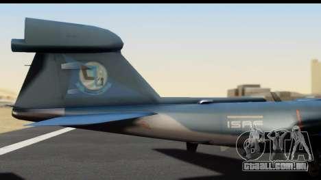 Northrop Grumman EA-6B ISAF para GTA San Andreas vista direita