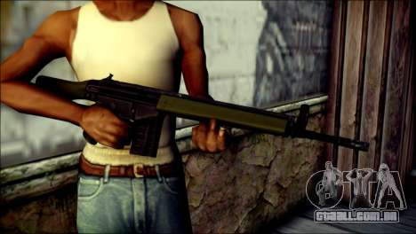 HK G3 Normal para GTA San Andreas terceira tela