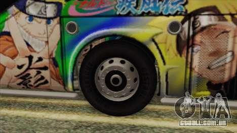 Bus Thailand para GTA San Andreas traseira esquerda vista