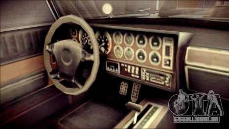 GTA 5 Dewbauchee JB 700 IVF para GTA San Andreas vista direita