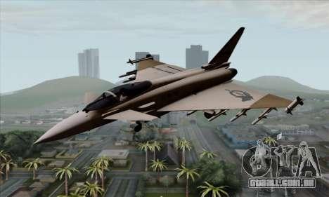 Eurofighter Typhoon 2000 UPEO para GTA San Andreas