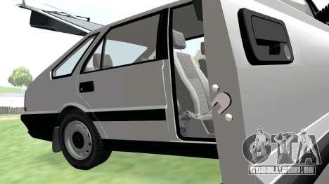 Daewoo-FSO Polonez Caro Plus ABC 1999 para GTA San Andreas vista superior