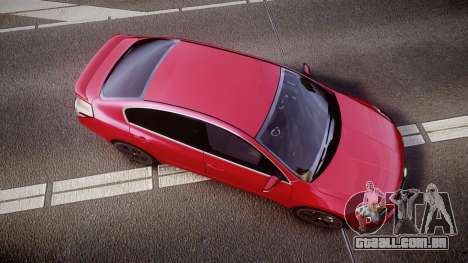 Nissan Altima 3.5 SE para GTA 4 vista direita