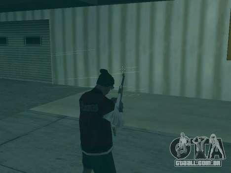 A trajetória das balas para GTA San Andreas