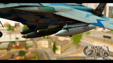 F-15E 303rd TFS Fighting Dragons para GTA San Andreas vista direita