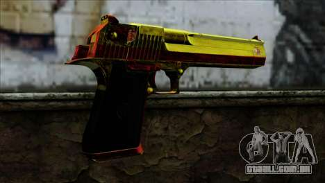 Desert Eagle Espanha para GTA San Andreas segunda tela