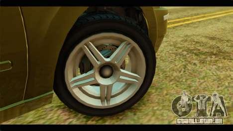 GTA 4 Pinnacle para GTA San Andreas traseira esquerda vista