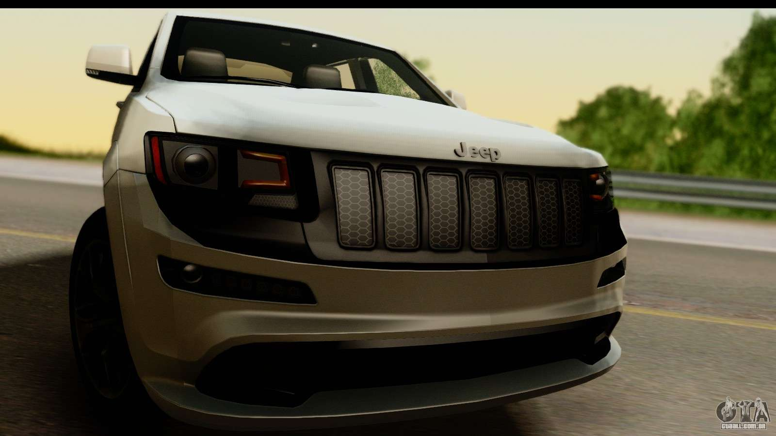 Jeep Grand Cherokee SRT8 2014 Para GTA San Andreas .