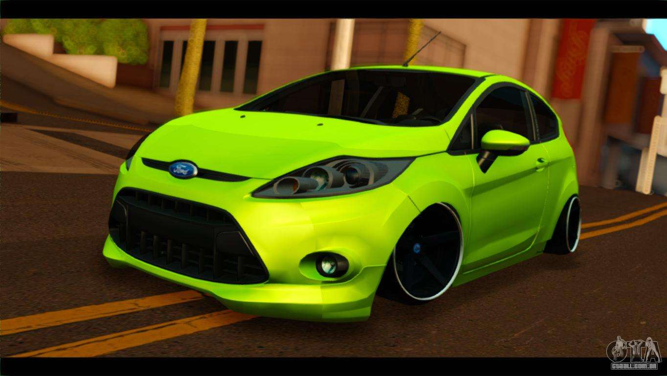 Ford Fiesta Hatchback >> Ford Fiesta para GTA San Andreas