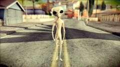 Gray Alien Skin Skin para GTA San Andreas