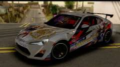 Toyota GT86 Itasha para GTA San Andreas