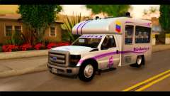 Ford F-350 Bus para GTA San Andreas