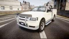 GTA V Vapid Utility Truck para GTA 4