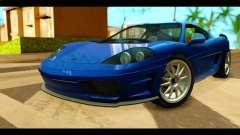 GTA 5 Grotti Turismo para GTA San Andreas