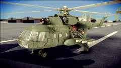 Mil Mi-8 Polish Air Force Afganistan para GTA San Andreas