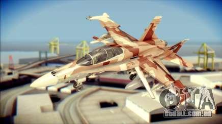 F-18D NSAWC para GTA San Andreas