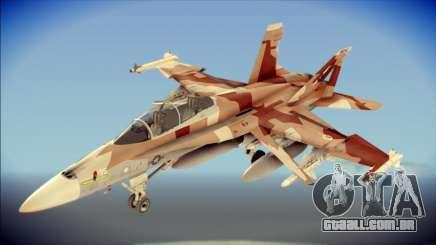 F-22 Raptor Starscream para GTA San Andreas