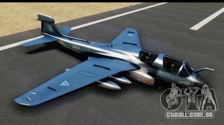 Northrop Grumman EA-6B ISAF para GTA San Andreas