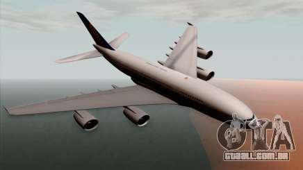 Airbus A380-800 Singapore Airline para GTA San Andreas