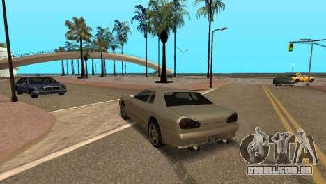 Melhoria física de condução para GTA San Andreas terceira tela