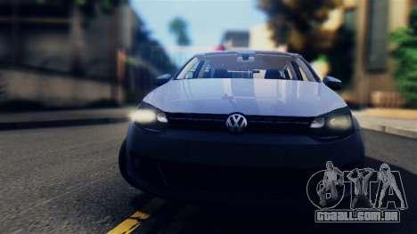 Volkswagen Polo para GTA San Andreas traseira esquerda vista
