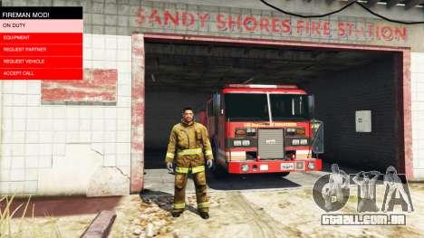 A missão do fogo v2.0 para GTA 5