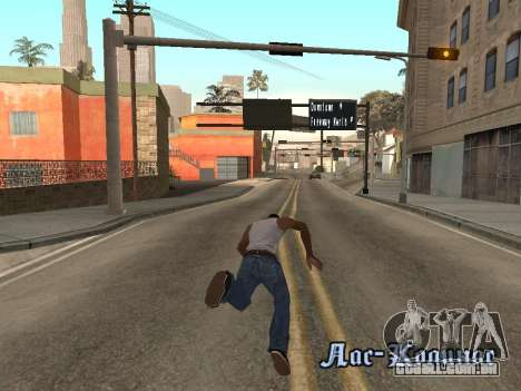 Back Flip para GTA San Andreas terceira tela