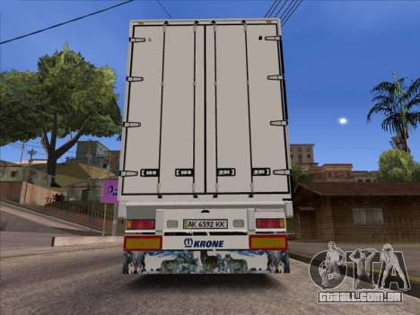 Tavria Krone para GTA San Andreas traseira esquerda vista