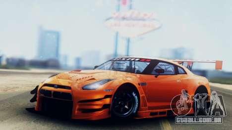 Nissan GT-R (R35) GT3 2012 PJ5 para GTA San Andreas
