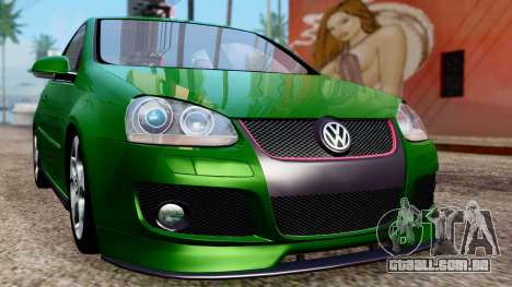 Volkswagen Golf Mk5 GTi Tunable PJ para GTA San Andreas vista interior