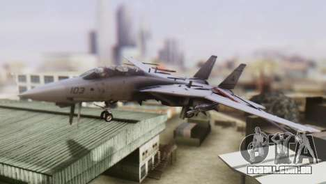 F-14A Tomcat VF-33 Starfighters para GTA San Andreas