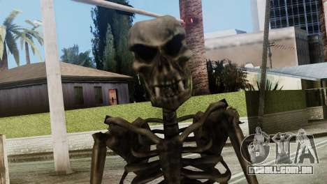 Skeleton Skin v2 para GTA San Andreas