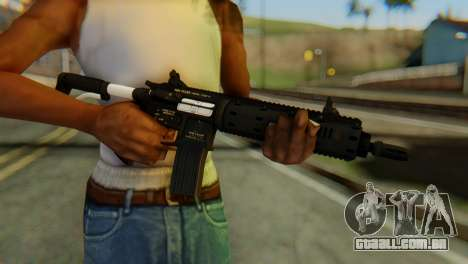 Carbine Rifle from GTA 5 v1 para GTA San Andreas terceira tela