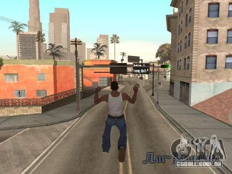 Back Flip para GTA San Andreas segunda tela