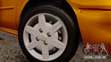 Chevrolet Corsa Classic 2009 v2 para GTA San Andreas vista direita