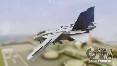 Grumman F-14A Tomcat para GTA San Andreas esquerda vista