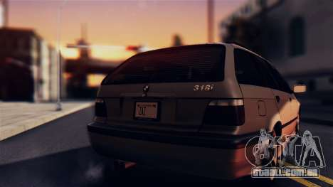 BMW 316i Touring para GTA San Andreas vista direita