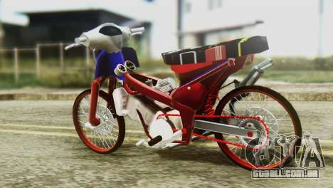 Dream 110 cc of Thailand para GTA San Andreas esquerda vista