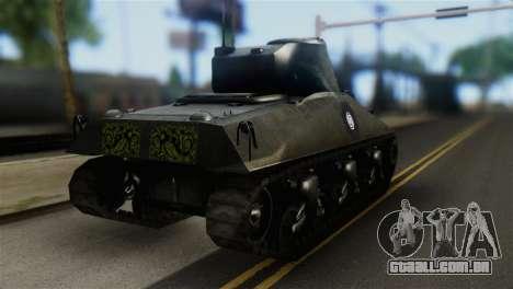 M4 Sherman Gawai Special 2 para GTA San Andreas esquerda vista