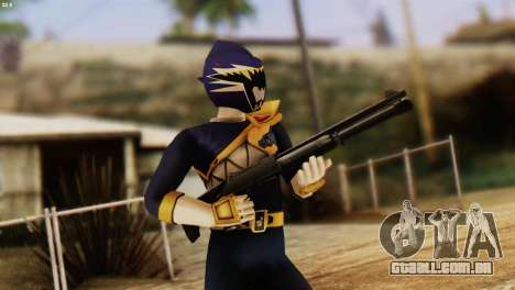 Power Rangers Skin 4 para GTA San Andreas terceira tela