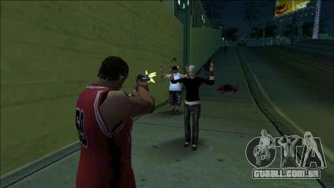 GTA 5 Kill Flash Effect para GTA San Andreas segunda tela