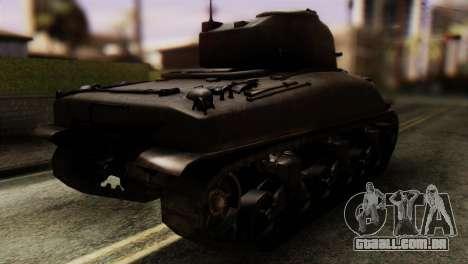 M4 Sherman v1.1 para GTA San Andreas esquerda vista