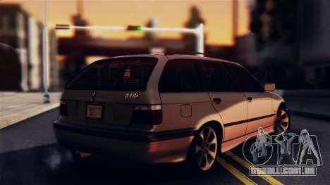 BMW 316i Touring para GTA San Andreas esquerda vista